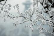 Aj v dolinách môže teplota klesnúť až do -5 stupňov Celzia.