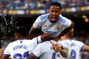 Radosť hráčov Realu Madrid.