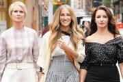 Cynthia Nixon, Sarah Jessica Parker a Kristin Davis v novej sezóne seriálu Sex v meste.