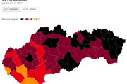 Covid automat: Aktuálna mapa