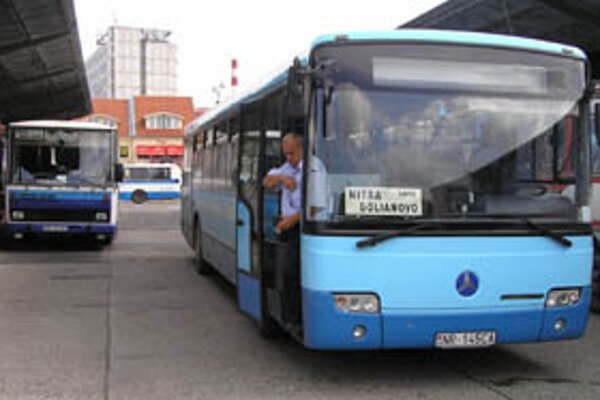 Štrajk autobusárov v Nitrianskom kraji zrejme nebude.