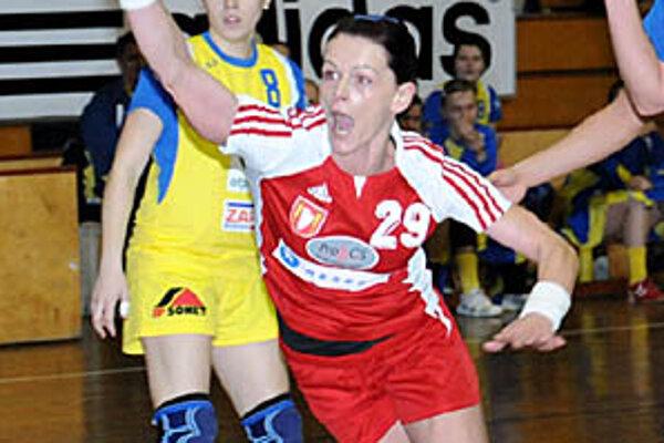Alžbeta Tóthová zaťažila konto svojich bývalých spoluhráčok 11 gólmi.