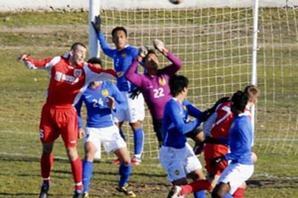 Futbalisti Šale v priateľskom zápase porazili súpera z Malajzie, ktorý strávi na Slovensku tri mesiace.