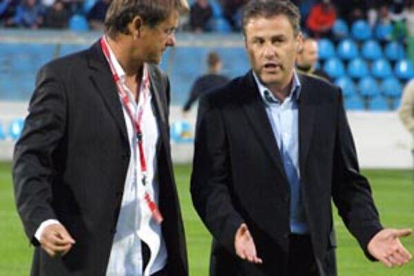Bývalý tréner Nitry Pavel Hapal zožal v sobotu pod Zoborom potlesk tribún.