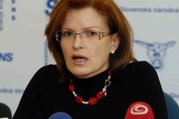 Anna Belousovová uviedla, že voliči budú sklamaní, že SNS nebude súčasťou slovenskej koalície v nitrianskom VÚC.