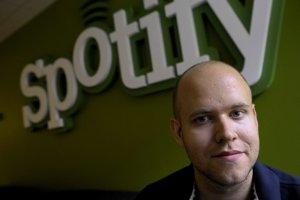 Šéf spoločnosti Spotify, David Ek.