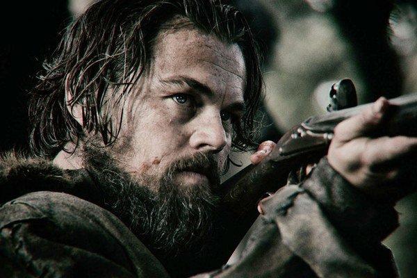 Leonardo DiCaprio vo filme  The Revenant.