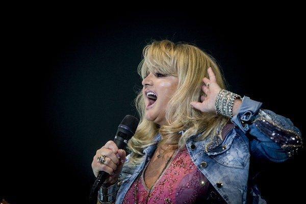 Chrapľavý hlas stále funguje. Bonnie Tyler spievalav Bratislave.