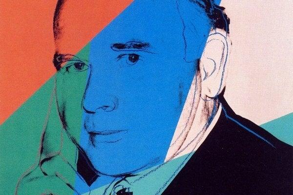 Andy Warhol urobil Ludwigovi takýto portrét.