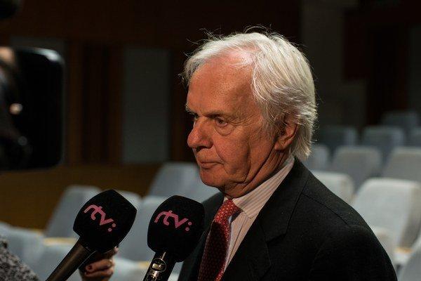 Filmový a televízny producent Ján Mojto.