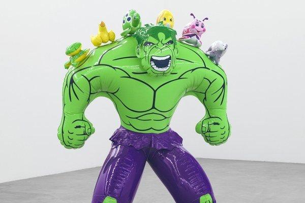 Hulk a jeho kamaráti: kačička, žabka, chrobáčik.