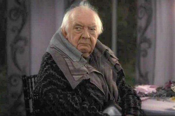 David Ryall vo filme o Harrym Potterovi.