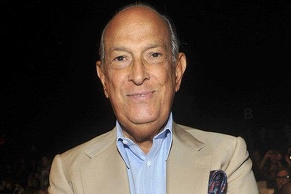 Oscar de la Renta (1932 - 2014).
