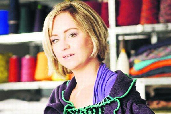 Dana Kleinert (1974 ) – textilná a odevná dizajnérka, vlani získala Národnú cenu za dizajn.