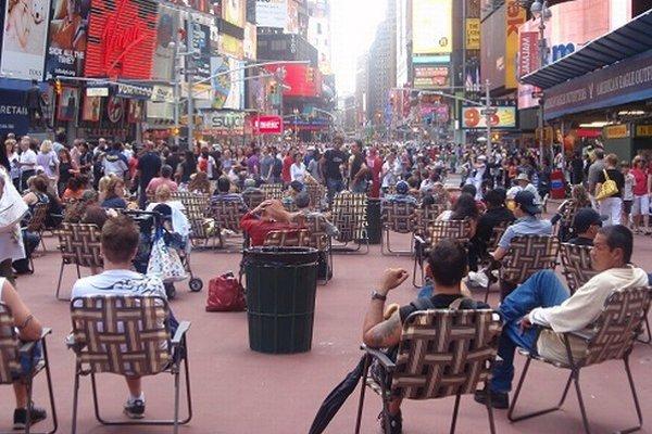 Times Square v New Yorku ešte pred pár rokmi vyzeralo inak.