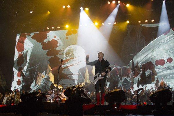 Metallica už vraj dávno nemala pred koncertom takú trému ako počas víkendu v Glastonbury.