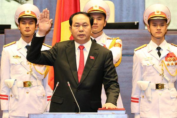 Vietnamský prezident Tran Dai Quang.