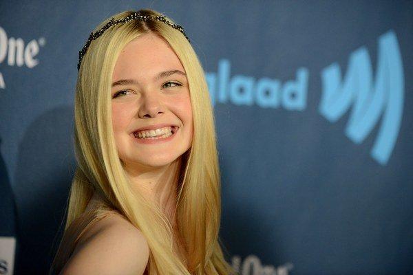 Herečka Elle Fanning (16).