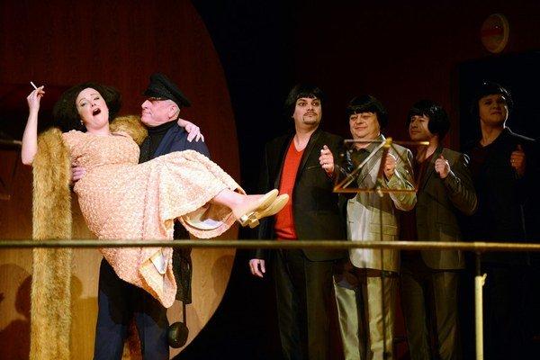 Ariadna na Naxe  je ďalším z exkluzívnych titulov košickej opernej scény.