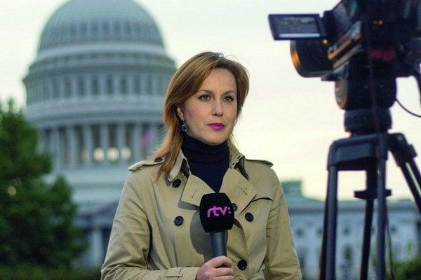 Alena Taranová, korešpondentka Slovenskej televízie vo Washingtone.
