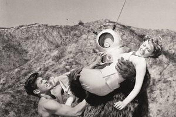Americký film Robot Monster urobili v 3D už v roku 1953.