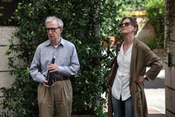 Woody Allen si aj tentoraz vo svojom filme zahral.