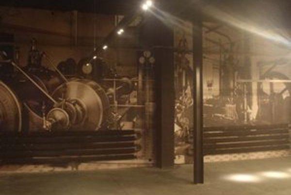 Priestory Refinery Gallery v Bratislave.