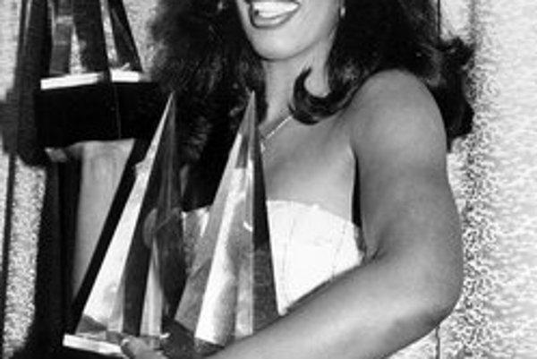 Donna Summer v 70-tych rokoch ovládla disko.