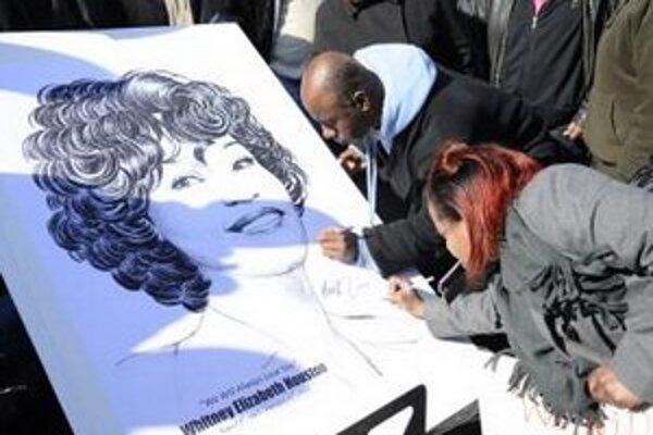 S Whitney Houston sa lúčia milióny fanúšikov.