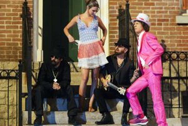 Damian Marley (vľavo), Joss Stone, Dave Stewart a Mick Jagger. Dočkáme sa ich druhého albumu? Skôr nie.