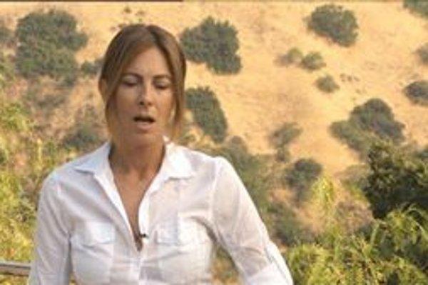 Režisérka Kathryn Bigelowová pri nakrúcaní svojho oscarového filmu.