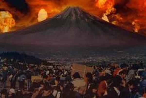 Apokalyptická vízia z filmu Sny, ktorý sa u nás uvádzal pod názvom Sny Akiho Kurosawu.