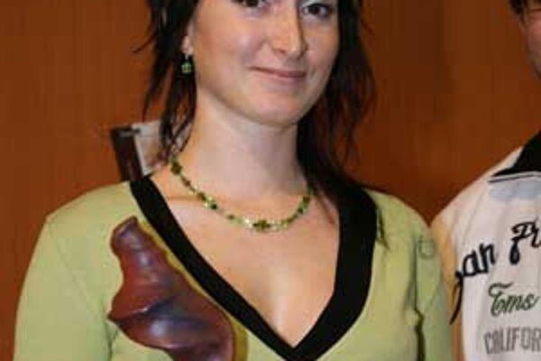 Víťazka literárnej súťaže Cena Fantázie 2009 Lucia Droppová.
