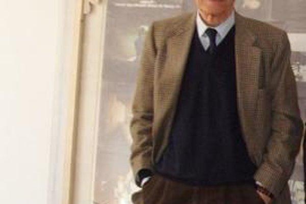 """""""Vystavovaním mojich diel v Bratislave som poctený. Mám 81 rokov a doteraz som toto pôvabné európske mesto nenavštívil. Určite tu nájdem inšpiráciu pre svoju ďalšiu tvorbu,"""" hovorí Roberto Malquori."""