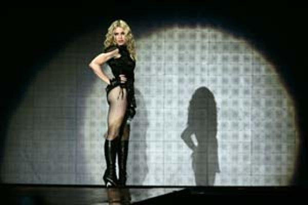 Madonna v Düsseldorfe.