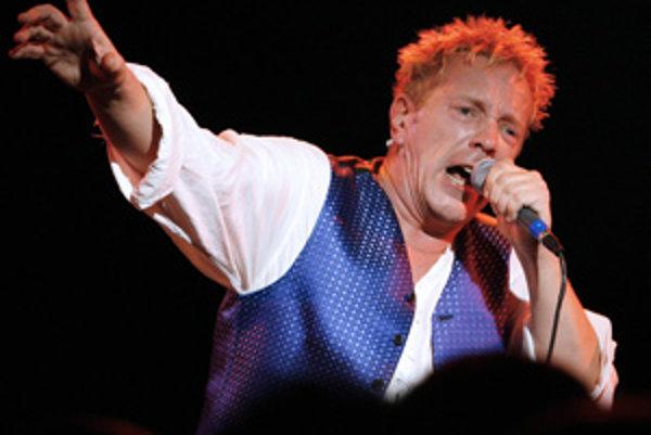 Johnny Rotten zo Sex Pistols.