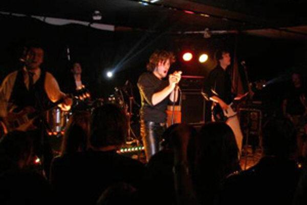 V bratislavskom podniku A4 sa v piatok uskutočnilo posledné predstavenie z koncertného turné skupín Sako a Cliché. Bratislava, 17. máj 2008.