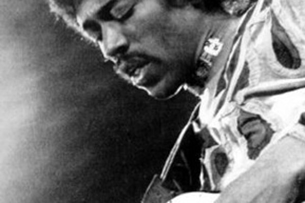 Jimi Hendrix (na snímke z roku 1970).