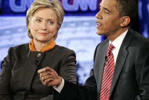 Hillary Clintonová, Barack Obama.