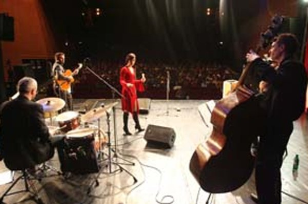 "Skupina All Time Jazz na poslednom ""výchovnom"" koncerte v Bratislave."