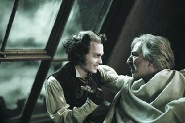 Ďalší pán na holenie. Sweeney Todd si pospevuje a zákazníkom sľubuje, že také dobré holenie už nikdy nezažijú.