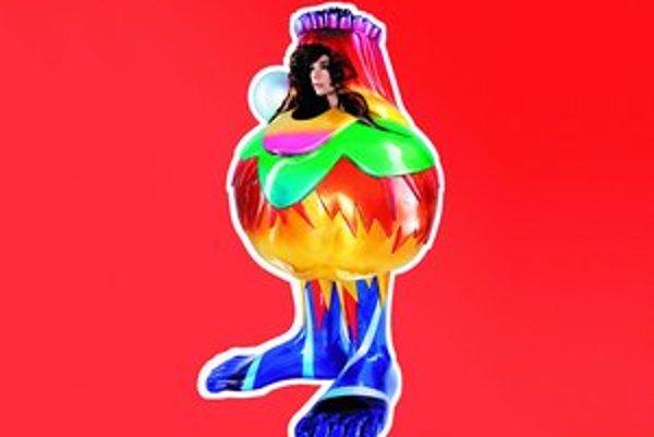 Obal nového albumu – opäť originálne umelecké dielo urobené Björk doslova na telo.