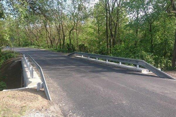 Práce na oprave mosta trvali mesiac.