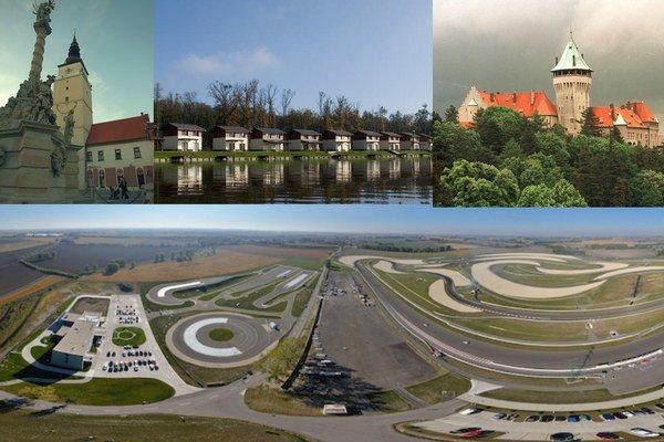Propagačno-imidžové video Zachytávať má okruh Slovakiaring, rezidenčnú zónu Golf residence v okrese Senica, centrum Trnavy či zámkov Smoleniciach.