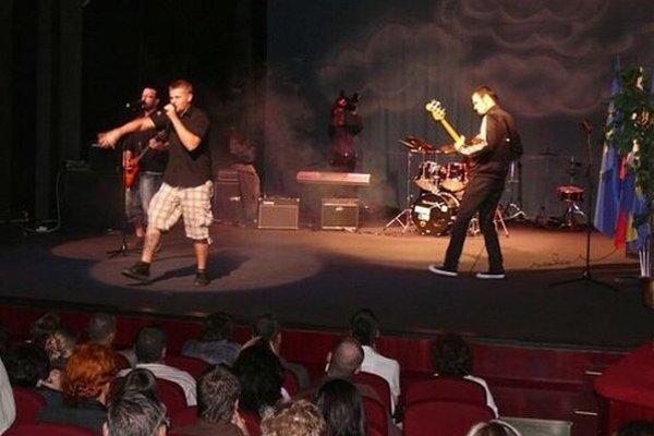 Trnavská kapela Golden Vein.