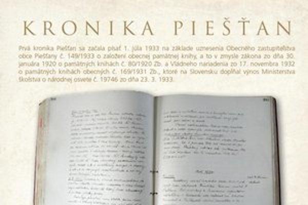 Na svojej webovej stránke sprístupnili Piešťany kroniku od roku 1933 až po rok 2011.