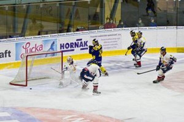 Zadovka Tibora Melichárka po prihrávke od Nemca v sieti neskončila.