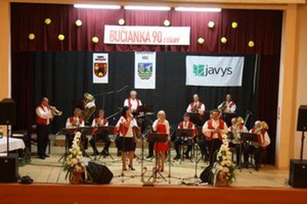 Dychovka v Bučanoch oslávila 90 rokov.