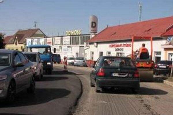 Dokončenie prác na Žilinskej ulici bolo naplánované do konca predošlého týždňa.