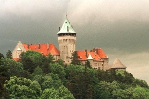 Smolenický hrad.